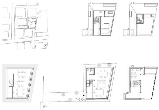 Architecture matters casa atelier bow wow for Bow house plans